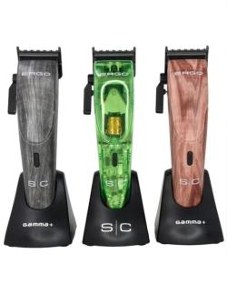 StyleCraft Ergo Lids - Transparent Green, Grey Wood, Red Wood