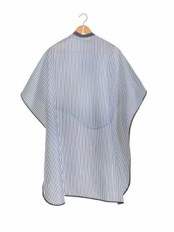 Styletek Black & White Striped Barber Cape