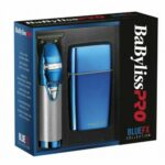 BaBylissPro BlueFX Cordless Skeleton Trimmer and Shaver Limited Edition Collection