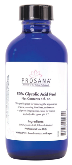 Prosana 50% Glycolic Peel 4oz