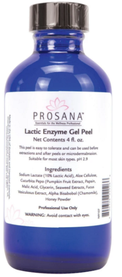 Prosana Lactic Enzyme Gel Peel