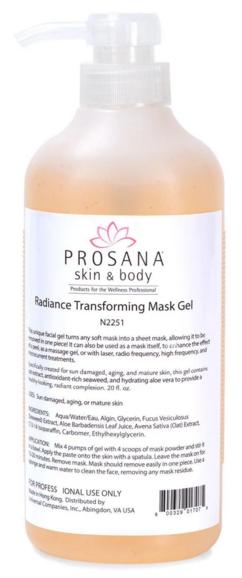 Prosana Radiance Transforming Mask Booster Gel