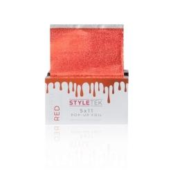 Styletek Big Apple Red Colored Pre Folded Foil Sheet