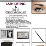 Lash Lift & Tint / Certification Classes By Hairpearl