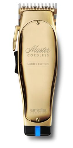 Andis Master Cordless Lithium Ion Clipper 12540 (Gold)