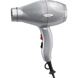 Gamma+ Ion Ceramic S Silver Hairdryer GPICSVS